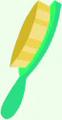 Neon Brush cutie mark crop S4E6