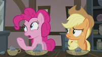 "Pinkie Pie ""double-baked pot pie..."" S5E20"