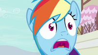 "Rainbow Dash ""is retiring!"" S7E18"