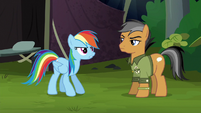 "Rainbow Dash ""the only way to get back"" S6E13"