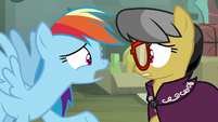 Rainbow Dash -giving up being Daring Do- S7E18