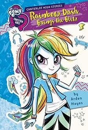 Rainbow Dash Brings the Blitz cover