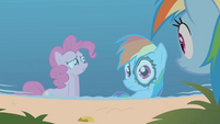 Rainbow Dash ink eye S1E05