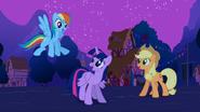 Rainbow happy for Alicorn Twilight S3E13