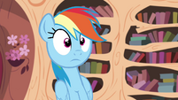 Rainbow hears Twilight S4E21