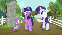 "Rarity ""...for moons!"" S6E10"