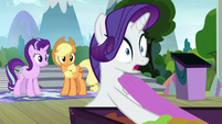 Rarity -Celestia's going to be in our play- S8E7