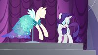 "Rarity brings up ""Rarity's Rules of TLC"" S5E14"