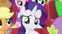 Rarity touched by Spike's song MLPBGE
