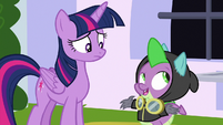 "Spike ""it may not be a surprise"" S9E4"