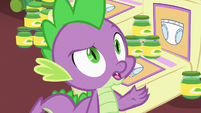 Spike correcting Princess Cadance S7E3