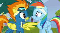 Spitfire --you're supposed to be a Wonderbolt-- S6E7