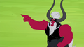 Tirek pointing at the Mane 6 S4E26.png