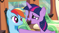 Twilight 'the strongest flyers' S4E10