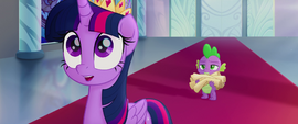 "Twilight Sparkle ""for a huge favor!"" MLPTM"