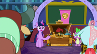 Twilight Sparkle -they'll make a great team- S8E15