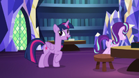 "Twilight Sparkle confident ""I try"" S7E24"