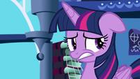 Twilight Sparkle feeling awkward S5E12