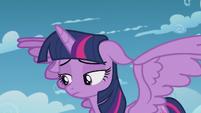 Twilight sad about failing to reach Rainbow S5E25