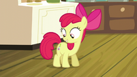 Apple Bloom with a new cutie mark S5E4