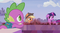"""Applejack """"I hope all this helped"""" S5E25"""