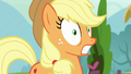 Applejack in complete shock a third time S7E9.png