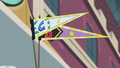 Canterlot High and Crystal Prep pennants EG3.png