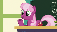 Cheerilee --your cart has to be able to finish-- S6E14