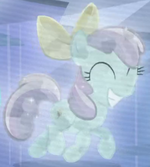 Crystal Empire filly with bow s03e01