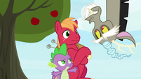 """Discord upside-down """"why not?!"""" S9E23"""