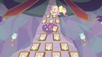 Fluttershy's Teacher of the Month wall MLPS3