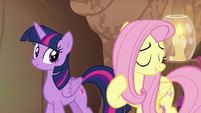 "Fluttershy ""in fact, if I had rested"" S7E20"