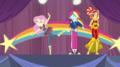 Fluttershy and Rainbow Dash dance during rehearsal EGS1.png