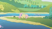 Fluttershy at a river S1E5