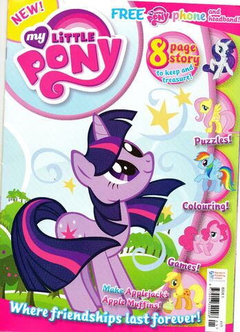 image mlp uk magazine front jpg my little pony friendship is