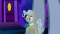 Mayor Mare backs up into giant Derpy S5E13.png