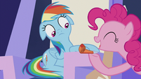 Pinkie -That's the spirit!- S5E8