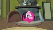 Pinkie Pie in Cranky's fireplace S02E18