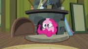 Pinkie Pie in Cranky's fireplace S02E18
