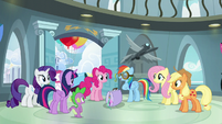 Rainbow Dash --finally been recognized-- S6E7
