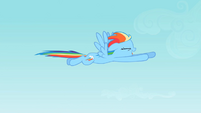 Rainbow Dash flying S2E07