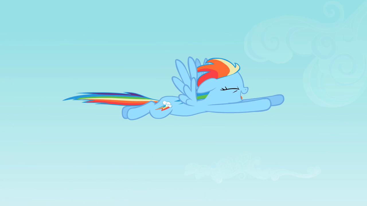 Rainbow Dash Flying S2E07