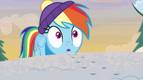 Rainbow Dash hears Discord making noise MLPBGE