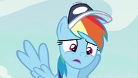 Rainbow Dash sighing S9E6