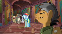Rainbow and Caballeron frightened S6E13