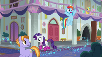 Rainbow excited about the secret passage S8E17