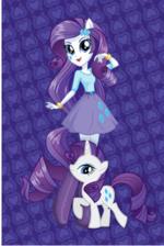Rarity Equestria Girls design