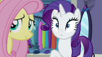 Rarity with eyes wide open S8E4