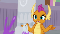 "Smolder ""staying here over break"" S8E16"