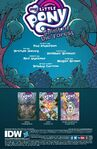 Spirit of the Forest issue 2 credits page